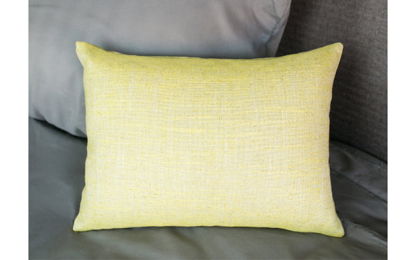 Dazzle Linen Chartreuse Pillow Cover