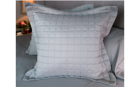 Grey Euro Pillow