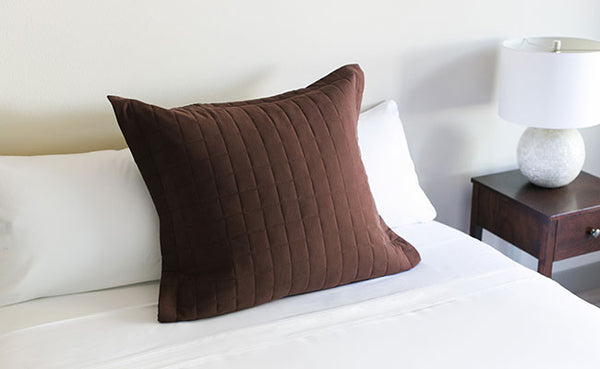 Chocolate Euro Pillow Sham