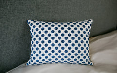 "Posie Dot Navy 12"" x 16"""