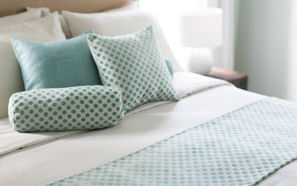Posie Dot Pool Pillow Cover