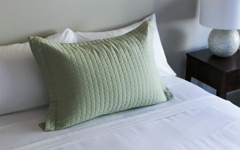 Tea Green Pillow Sham