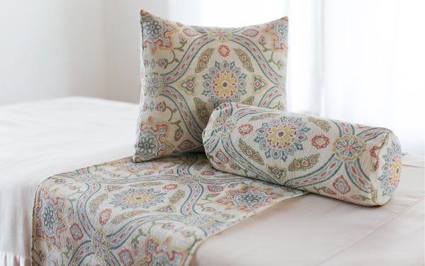 Spanish Tapestry Pillow Cover