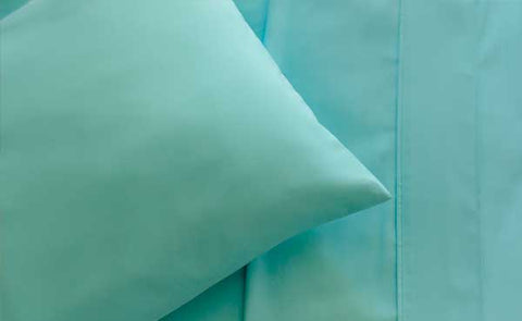 Turquoise Pillowcase Set