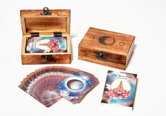 The Moon Deck Oracle Cards Amazon Affiliate Link || soulandherbs.com