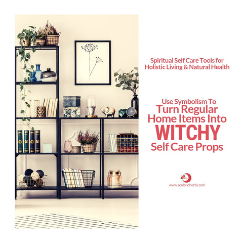 home items for the self care diy witch || soulandherbs.com