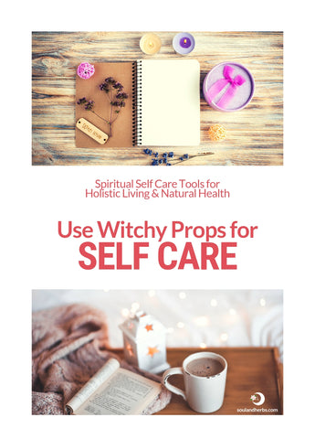 diy witch props for self care || soulandherbs.com