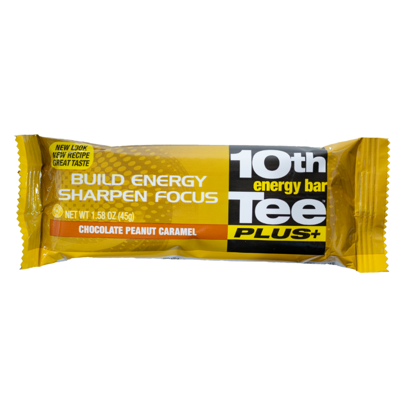 10th Tee PLUS+ Chocolate Peanut Caramel Energy Bar