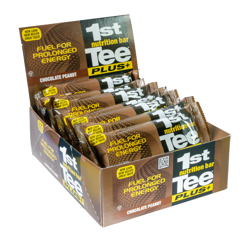 1st Tee PLUS+ Chocolate Peanut Nutrition Bar