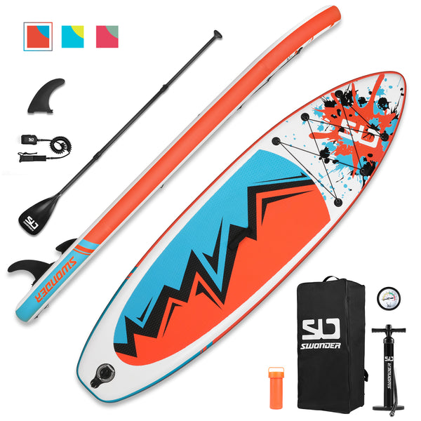 10'  Inflatable Stand Up Paddle Board Set