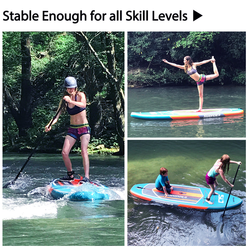 Refurbished- 11'6 or 10'6  Inflatable Stand up Paddle Board Set