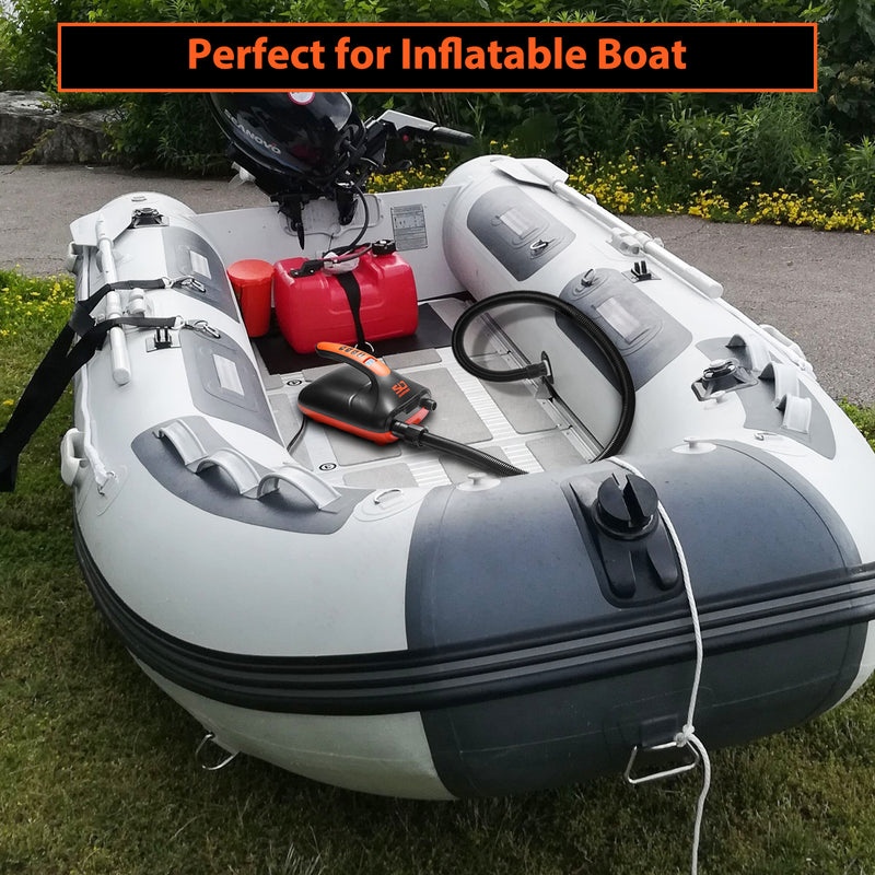 swonder isup electric pump perfect for inflatable boat