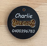 Pet Tag - Pet ID Tag - Pet Name Tag - Custom Made Designer Pet Tags with Optional Matching Necklace for you!