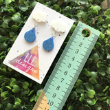 Rainy Days Dangle Earrings. Cloudy Days Dangle Earrings. Cloud Earrings. Fun Earrings. Life's too short to wear boring Jewellery!