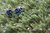 Blinging Bro's Cufflinks. (blue) Life's too short to wear boring Jewellery. Life's too short to wear boring cufflinks. Sparkle.