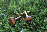 Hip as Hex Cufflinks. Life's too short to wear boring Jewellery. Life's too short to wear boring cufflinks. Sparkle.