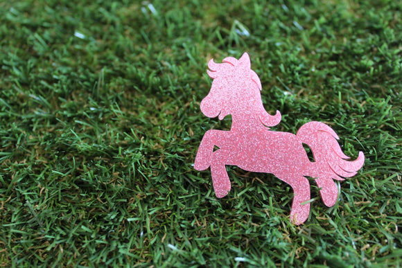 My Little Pony Sparkling Glitter Brooch. Perfect Pony Badge. Cute Brooch. Quirky Brooch. Life's too short to wear boring Jewellery.