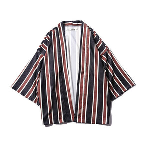 Camisa Striped Open