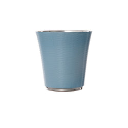 Personalised Blue Enameled Silver Plated Cup