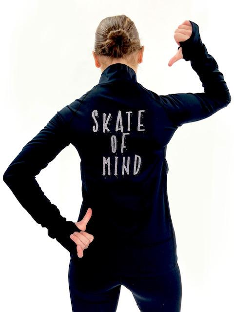 Black Skate of Mind Jacket
