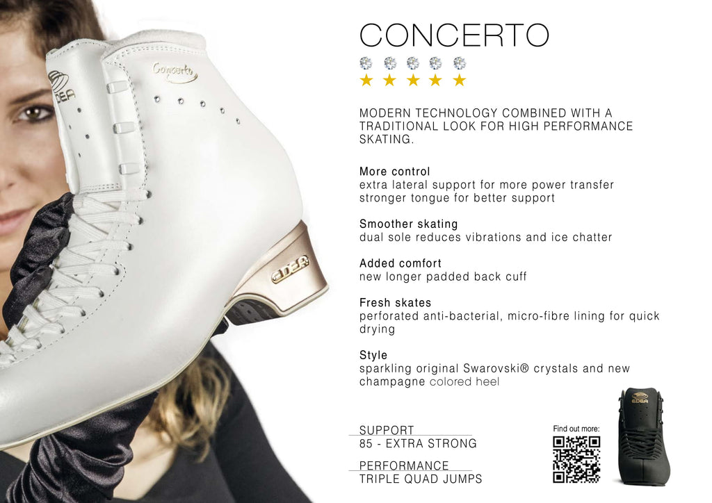 EDEA Figure Skating Boots - Concerto - House of Skates