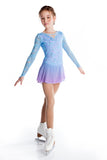 Elegant Lace Dress - Light Blue/Lilac - House of Skates
