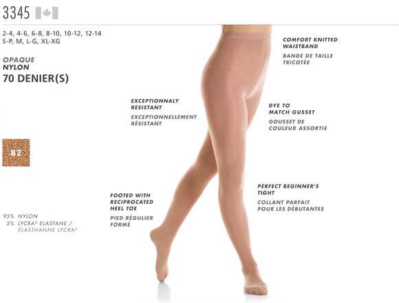 MONDOR - Footed Durable Tights (3345)