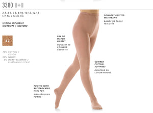 MONDOR - Footed Durable Tights (3380)