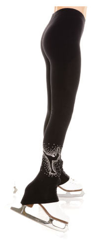 Bling spiral legging - House of Skates