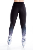 Legging with Inserts -Black Crystal - House of Skates