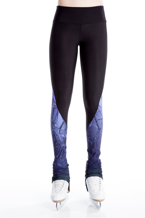 Legging with Inserts - Purple Frost - House of Skates