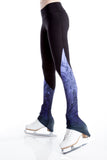 Legging with Inserts - Purple Frost