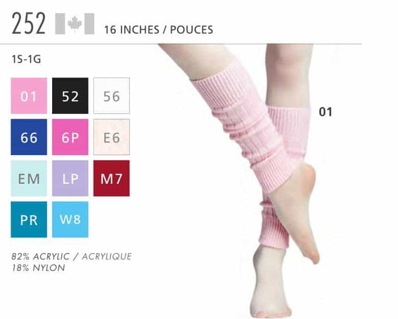 Leg Warmers 252 - 16 Inches