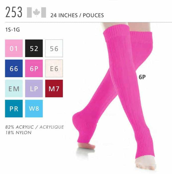 Leg Warmers 253 - 24 Inches - House of Skates