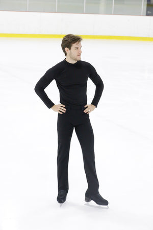 Men's basic long sleeves shirt - Black - House of Skates