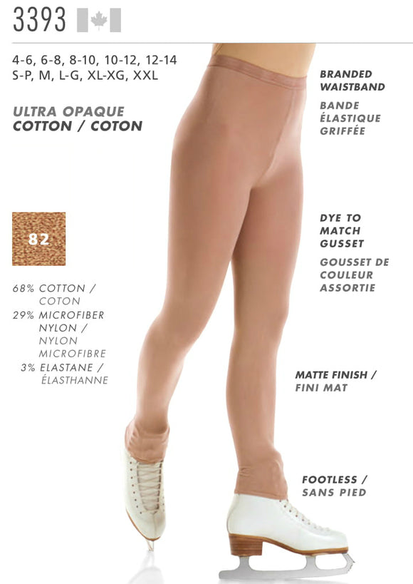 MONDOR - Footless Natural Tights (3393)