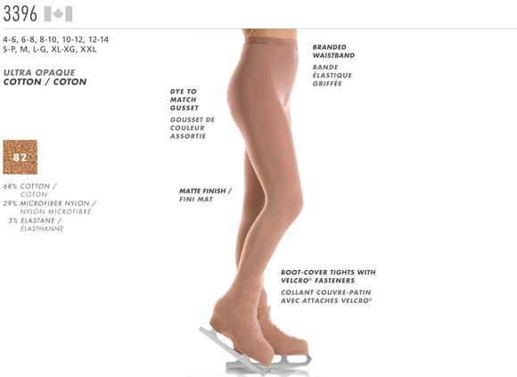 MONDOR - Boot Cover Natural Tights (3396)