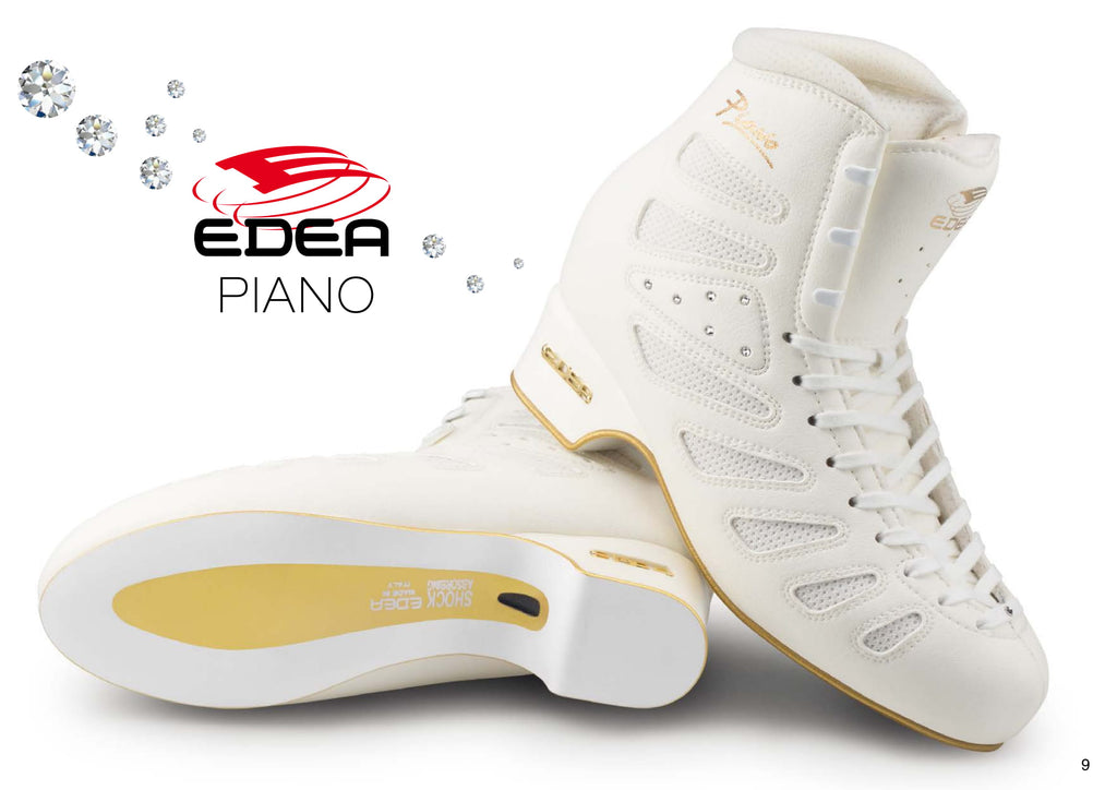 EDEA Figure Skating Boots - Piano - House of Skates