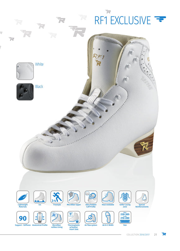 Risport Figure Skating Boots - RF1 Exclusive