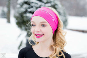 I love skating headband - Pink