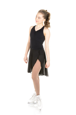 Body in supplex with mesh inserts - Black - House of Skates