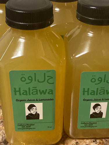 """Halawa"" Organic Herbal Lemonades"