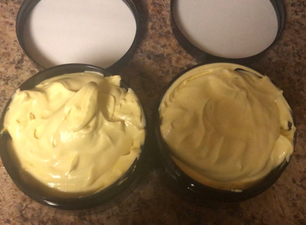 Organic Whipped Body Butter -8 oz