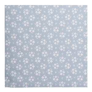 Slate Grey Floral Napkins - Set of 2