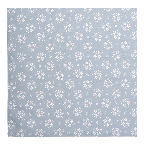 Grey Ditsy Floral Table Runner