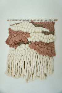 Pink & Cream Wall Hanging