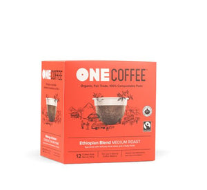 Ethiopian OneCoffee Single Serve Cups (12 cups)