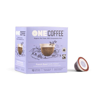 French Roast OneCoffee Single Serve Cups (12 cups)