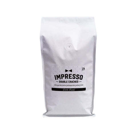 Impresso Coffee - Double Cracked - Dark Roast - 2lb bag