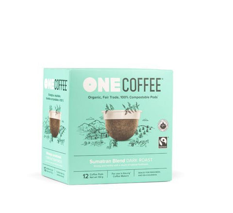Sumatran OneCoffee Single Serve Cups (12 cups)
